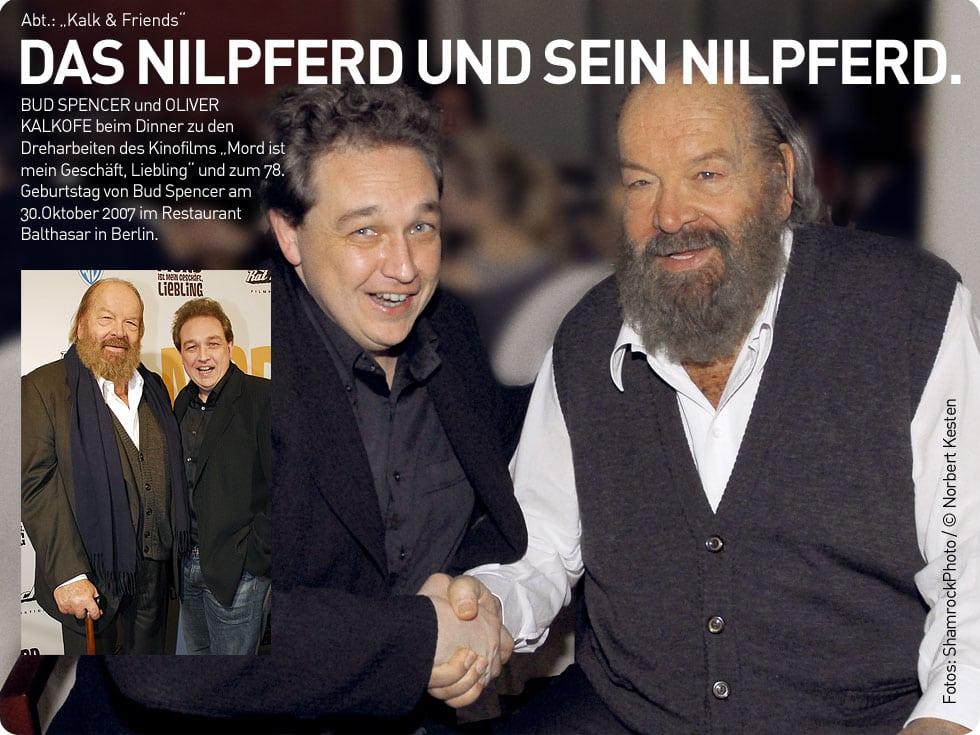 Oliver Kalkofe und Bud Spencer
